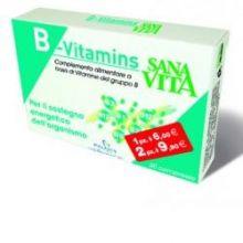 SANAVITA B-VITAMINS 30CPR Vitamina B
