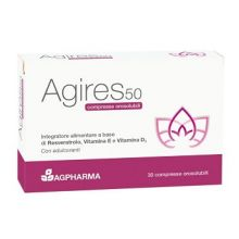 AG RES 50 30 COMPRESSE OROSOLUBILI Menopausa