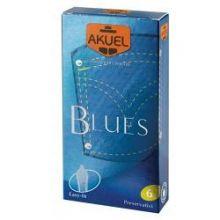 AKUEL BY MANIX BLUES B 6 PEZZI Preservativi