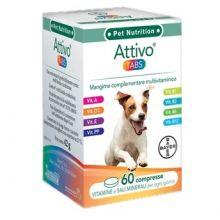 ATTIVO TABS 60CPR Antiparassitari e altri prodotti veterinari