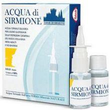 Acqua di Sirmione Minerale Naturale 6 Flaconcini 15 ml Soluzioni per aerosol
