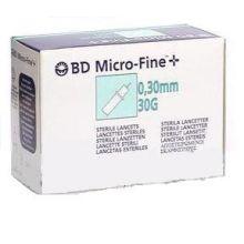 BD MICROFINE+ LANCETTE PUNGIDITO G30 25 PEZZI Lancette pungidito