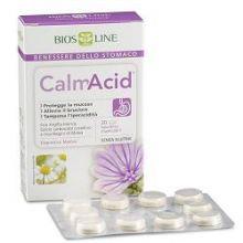 BIOSLINE CALMACID 40 TAVOLETTE MASTICABILI Regolarità intestinale e problemi di stomaco