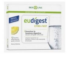 BIOSLINE EUDIGEST CITRO-FAST 12 BUSTINE Digestione e Depurazione