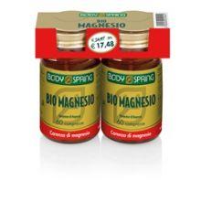 Body Spring Bipack Bio Magnesio 2 Confezioni da 60 Compresse Magnesio e zinco