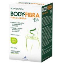 Body Spring Body Fibra Più Gusto Pera 12 Bustine Da 60 ml Digestione e Depurazione