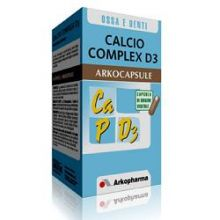 CALCIO COMPLEX D3 ARKOCAPSULE 45 CAPSULE Integratori Sali Minerali