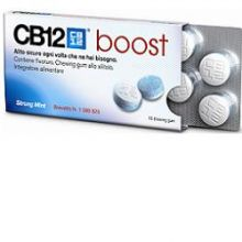 CB12 BOOST 10 CHEWING-GUM Spray per l'alito e chewing gum