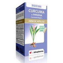 CURCUMA+PIPERINA ARKOCAPSULE 45 CAPSULE Integratori naturali