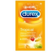 DUREX TROPICAL EASY ON 6 PEZZI Preservativi