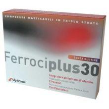 FERROCIPLUS 30 24 COMPRESSE Integratore Ferro