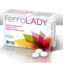 FERROLADY 30 COMPRESSE Integratore Ferro