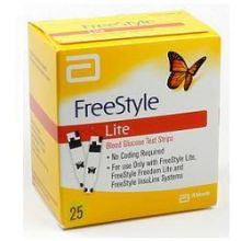 FREESTYLE LITE GLICEMIA 25 STRISCE Strisce controllo glicemia