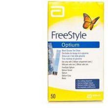 FREESTYLE OPTIUM TEST 25 STRISCE MONOTORAGGIO DELLA GLICEMIA Strisce glicemia