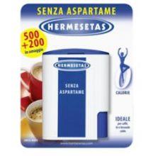 HERMESETAS SENZA ASPARTAME 500+200 COMPRESSE Dolcificanti, sale e brodo