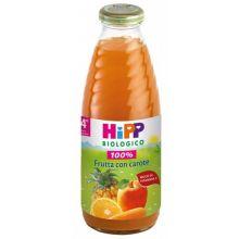 HIPP BIO SUCCO DI FRUTTA CON CAROTA 500ML Succhi di frutta per bambini