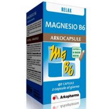 MAGNESIO B6 40CPS Integratori Sali Minerali