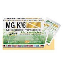 MG.K Vis 14 Bustine Tè Verde Integratori Sali Minerali
