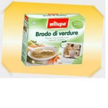 MILUPA LE VERDURE BRODO 10BUST Brodo, passati di verdure e minestrine per bambini