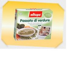 MILUPA LE VERDURE PASSATO 10BU Brodo, passati di verdure e minestrine per bambini