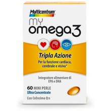 MULTICENTRUM MY OMEGA3 60CPS Omega 3, 6 e 9