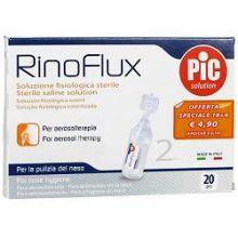 RINOFLUX SOLUZIONE FISIOLOGICA 20 FLACONCINI 2 ML Lavaggi nasali
