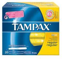 TAMPAX BLUE BOX REGULAR 20PEZZI Assorbenti interni