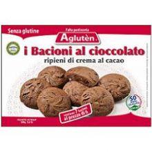 AGLUTEN BACIONI CIOCCOLATO 160G Dolci senza glutine