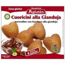 AGLUTEN CUORICINI GIANDUJA 150G Dolci senza glutine