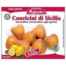 AGLUTEN CUORICINI SICILIA 150G Dolci senza glutine