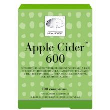 APPLE CIDER 100 COMPRESSE Drenanti naturali