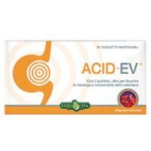 Acid Ev 30 compresse masticabili Digestione e Depurazione