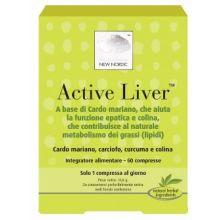 Active Liver 60 Compresse Digestione e Depurazione