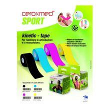 CEROXMED SPORT KINETIC TAPE CEROTTO FUCSIA 5CM X 5M Altri sport e fitness