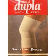 DUPLA GINOCCHIERA TERMICA COLORE CAMMELLO TAGLIA M Tutori ginocchio