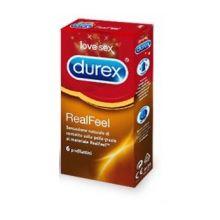 DUREX REALFEEL 6 PEZZI Preservativi