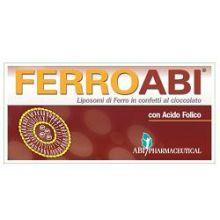 Ferroabi 20 Confetti Orosolubili al Cioccolato Integratore Ferro