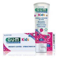 GUM KIDS DENTIFRICIO PER BAMBINI DA 2 A 6 ANNI CON FLUORO 500PPM 50ML Igiene orale bambini