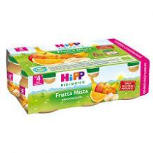 HIPP BIO OMOGENEIZZATO DI FRUTTA MISTA 6 X 80G Omogeneizzati di frutta