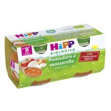 HIPP BIO SUGO DI POMODORO E MOZZARELLA 2 X 80G Sughi per bambini