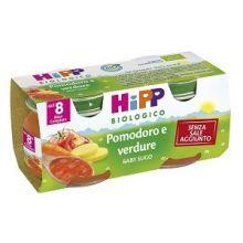 HIPP BIO SUGO DI POMODORO E VERDURE 2 X 80G Sughi per bambini
