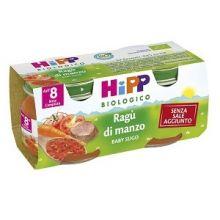HIPP BIO SUGO RAGU' DI MANZO 2 X 80G Sughi per bambini