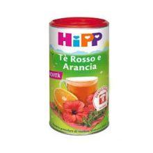 HIPP TE' ROSSO E ARANCIA CON ISOMALTULOSIO BEVANDA SOLUBILE 200G Tisane per bambini