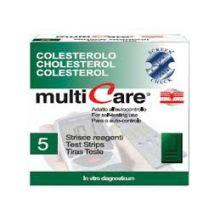 MULTICARE COLESTER 5STR CHIP Misuratori di colesterolo e trigliceridi