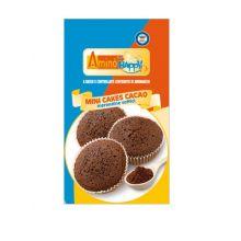 AMINO HAPPY D MINI CAKE CACAO 160G Altri alimenti aproteici e ipoproteici