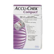 Accu-Chek Compact 50+1 Strisce Strisce controllo glicemia