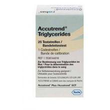Accutrend Trigliceridi 25 Strisce Reattive Misuratori di colesterolo e trigliceridi
