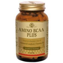 Amino BCAA Plus Solgar 50 Capsule Vegetali Sportivi