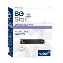 BGSTAR MYSTAR EXTRA 50 STRISCE Strisce controllo glicemia