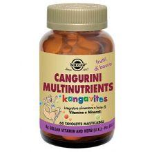 CANGURINI MULTINUTRIENTS AI  FRUTTI TROPICALI 60 COMPRESSE Multivitaminici